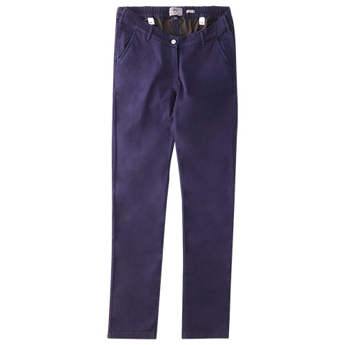 Women's Chino, CoolMaxx, darkblue KATIE 10344