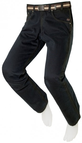 Herren-Thermo-Stretch-Jeans, Schwarz JOE 10150