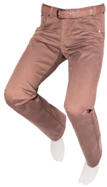 Men's stretch trouser, brown, JOE 10245